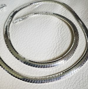 925 Italy Omega Necklace